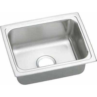 Lustertone 25 x 19.5 Gourmet Single Bowl Kitchen Sink