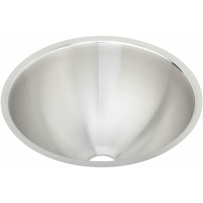 Lustertone 14.38 x 14.38 Undermount Single Bowl Kitchen Sink