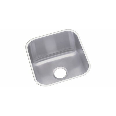 Dayton 18.25 x 16.5 Square Bowl Undermount Kitchen Sink