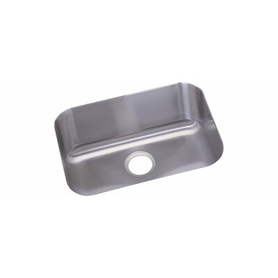 Dayton 23.5 x 18.25 Deep Single Bowl Undermount Kitchen Sink Finish: 18 Gauge Stainless Steel