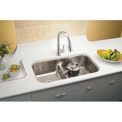Lustertone 33 x 18 Double Basin Undermount Kitchen Sink