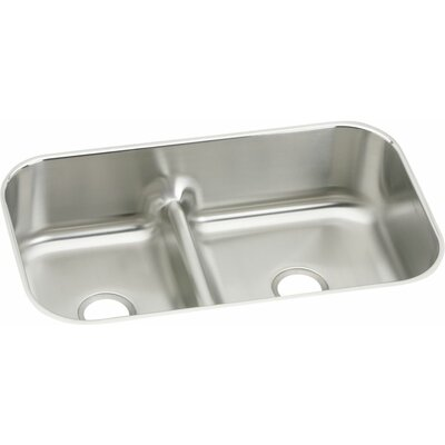 Gourmet 34.63 x 21.13 Undermount Kitchen Sink