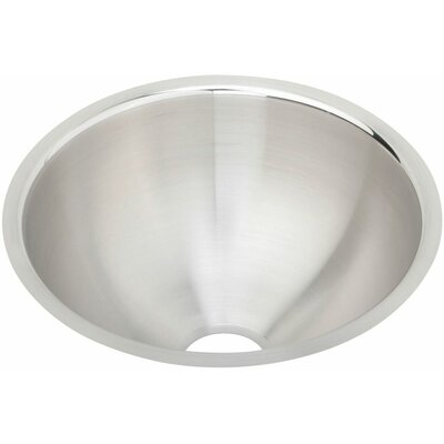Lustertone 11.38 x 11.38 Undermount Single Bowl Bar Sink