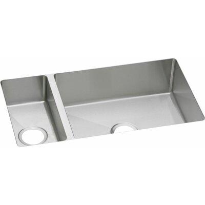 Avado 32.25 x 18.25 Double-Multi Sized Bowl Undermount Kitchen Sink