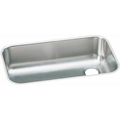 Elumina 30.5 x 18.25 Gourmet 18 Gauge Drain in Right Corner Single Bowl Kitchen Sink
