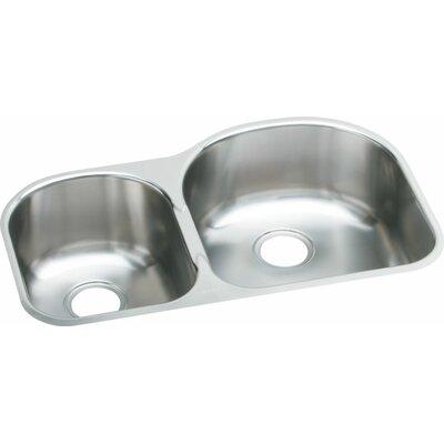 Elumina 31.25 x 20 Extra Deep Undermount Double Kitchen Sink Bowl Configuration: Left