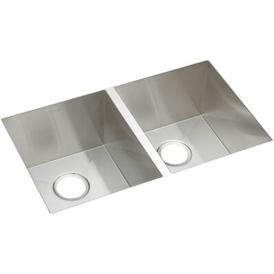 Avado 30.75 x 18.5 Double Bowl Kitchen Sink