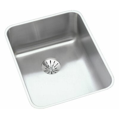 Gourmet 16.5 x 20.5 Kitchen Sink with Perfect Drain and Bottom Grid
