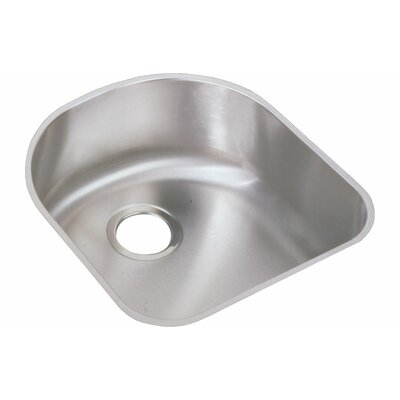 Lustertone 18.5 x 20 Undermount Single Bowl Kitchen Sink