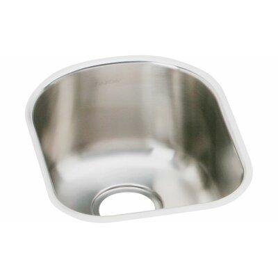 Elumina 14 x 17.5 Single Bowl Kitchen Sink