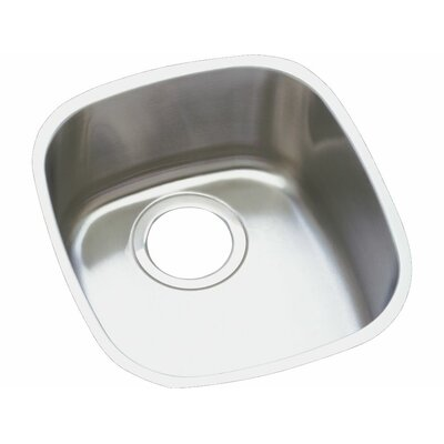 Harmony 14.25 x 15.75 Undermount Single Bowl Kitchen Sink