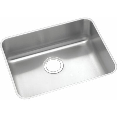 Gourmet 23.5 x 18.25 Undermount Kitchen Sink with Drain Assembly and Bottom Grid