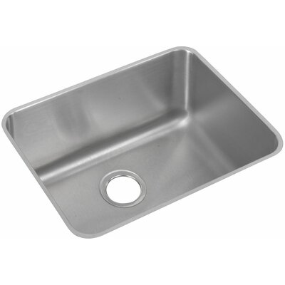 Lustertone 24 x 18 Undermount Kitchen Sink with Sink Grid and Drain Assembly
