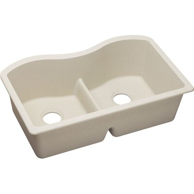 Quartz Classic 33 x 20.1 Undermount Kitchen Sink Finish: Bisque