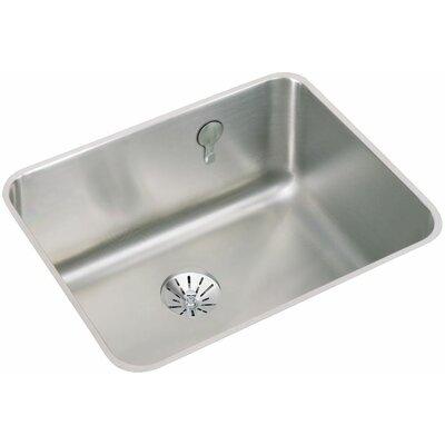 Gourmet 23.5 x 18.25 Undermount Kitchen Sink with E-Dock Hook