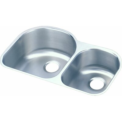 Harmony 31.25 x 20 Double Basin Undermount Kitchen Sink
