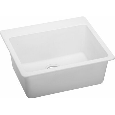 Quartz Classic 25 x 22 Kitchen Sink Finish: White