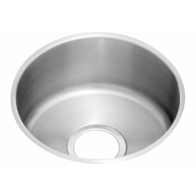Lustertone 18.38 x 18.38 Undermount Single Bowl Flat Bottom Kitchen Sink