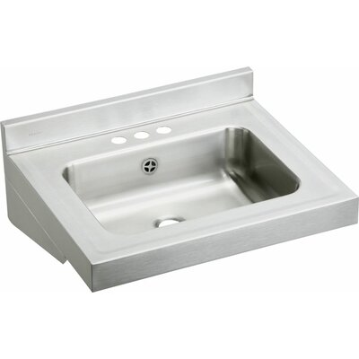 Metal 22 Wall Mount Bathroom Sink