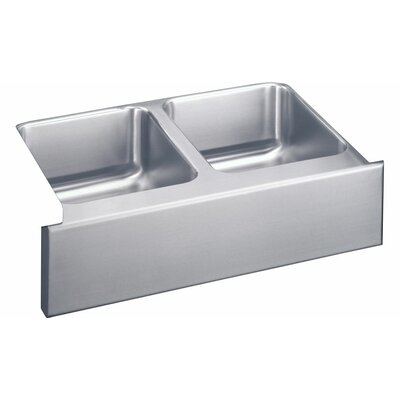 Gourmet 33 x 18 Kitchen Sink with Drain Assembly and Bottom Grid