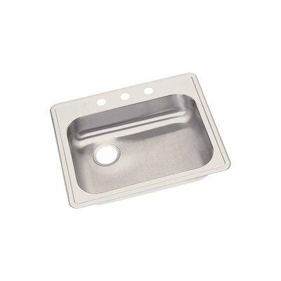 Dayton 25 x 21.25 Drop-In Kitchen Sink