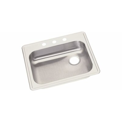 Dayton 25 x 21.25 Drop-In Kitchen Sink