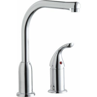 Single Handle Deck Mount Kitchen Faucet with Remote Handle