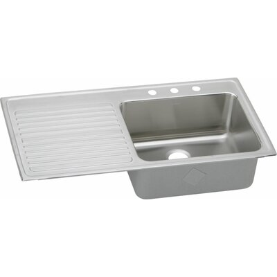 Gourmet 43 x 22 Drop-In Kitchen Sink