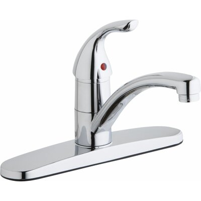 Single Handle Deck Mount Kitchen Faucet
