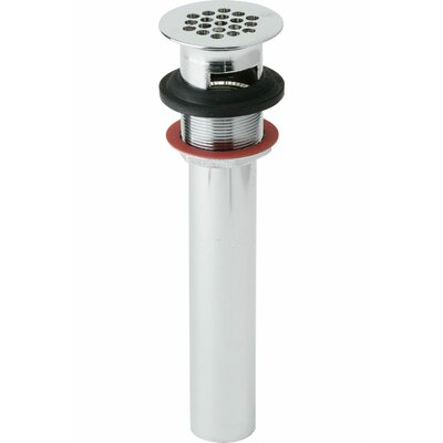 Lava 2.5 Grid Shower Drain With Overflow