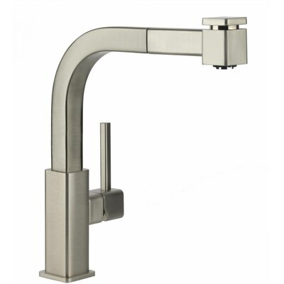 Avado Single Handle Deck Mount Kitchen Faucet with Pullout Spray