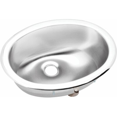 Asana Lustertone Oval Undermount Bathroom Sink