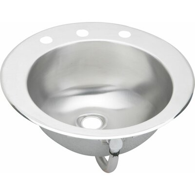 Lustertone 19.63 x 16.69 Asana Kitchen Sink