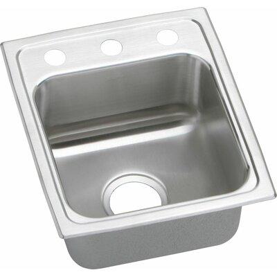 Lustertone 15 x 18 Drop-In Kitchen Sink