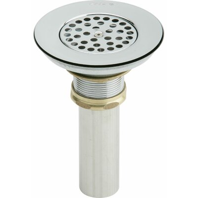 1.5 Grid Shower Drain Material: Stainless Steel