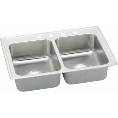 29 x 18 Double Bowl Kitchen Sink