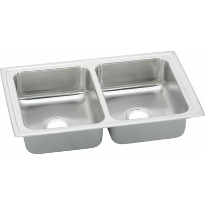 Pacemaker 33 x 19.5 Double Bowl Kitchen Sink