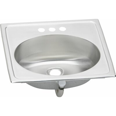 Asana 19 x 17 x 6 Kitchen Sink Faucet Drillings: 1 Hole