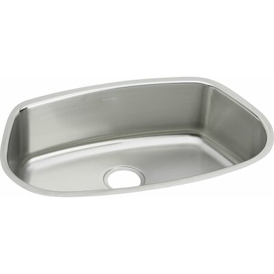 Mystic 31 x 19.63 Undermount Bar Sink with Cutting Board