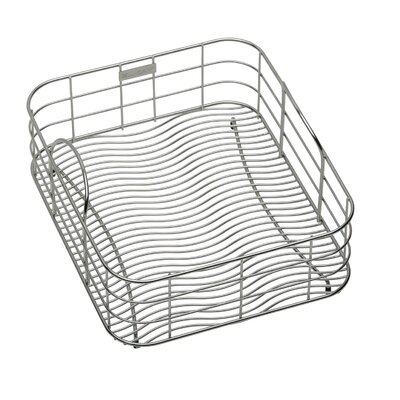 14.75 x 20 Stainless Steel Rinse Basket