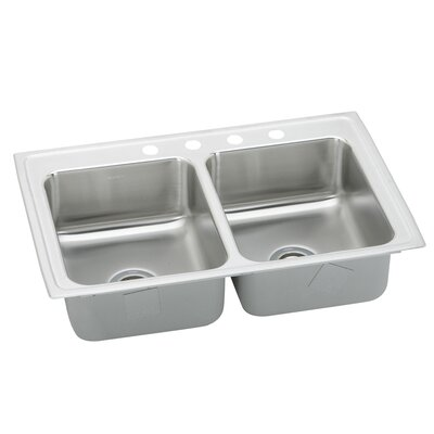 Pacemaker 43 x 22 Double Bowl Kitchen Sink