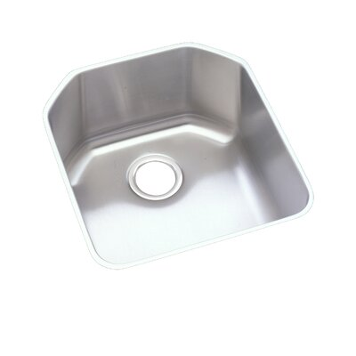 Lustertone 18.5 x 20.5 Undermount Single Bowl Kitchen Sink
