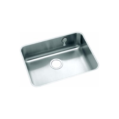 Gourmet 23.5 x 18.25 Undermount Kitchen Sink with E-Dock Hook