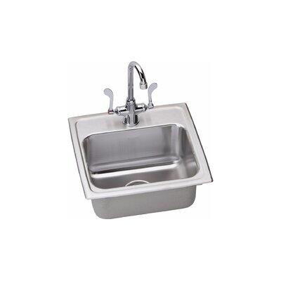 Kitchen Sink Package Finish: Satin Chrome