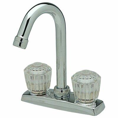 Double Handle Deck Mount Prep Kitchen Faucet
