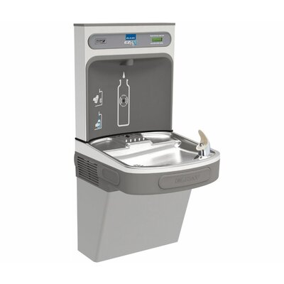 EZH2O ADA Compliant Wall Mount Drinking Fountain with Bottle Filling Station