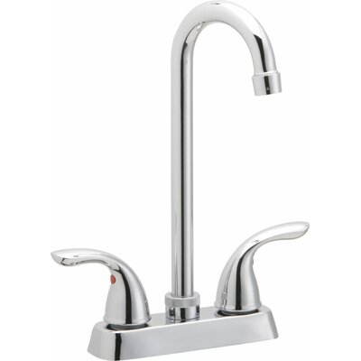 Double Handle Deck Mount Kitchen Faucet