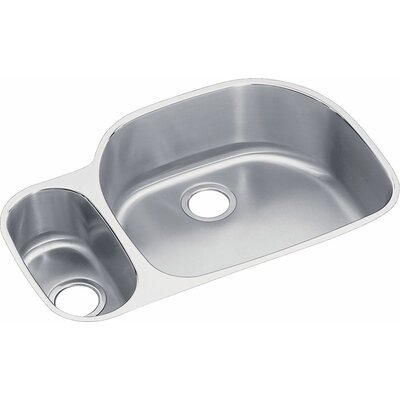 Harmony Lusterone 31.5 x 21.13 Double Basin Undermount Kitchen Sink