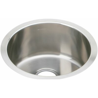 The Mystic� 16.38 x 16.38 Stainless Steel Single Bowl Undermount Bar Sink