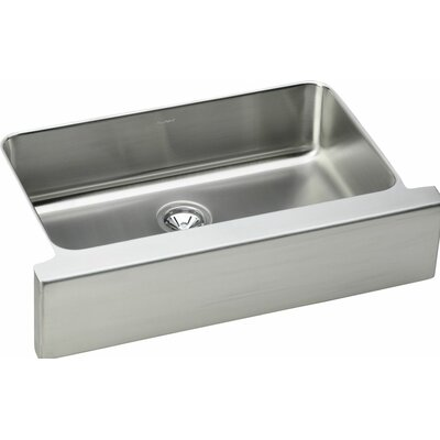 Gourmet 33 x 20 Single Bowl Farmhouse Kitchen Sink